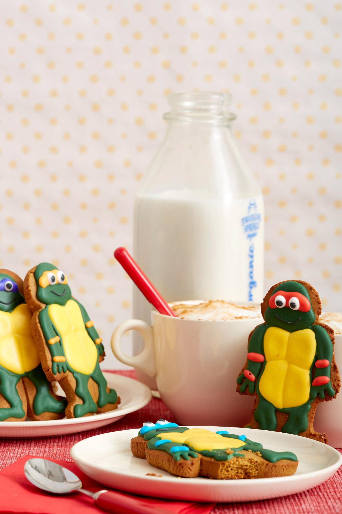 TMNT Ninjabread Cookies