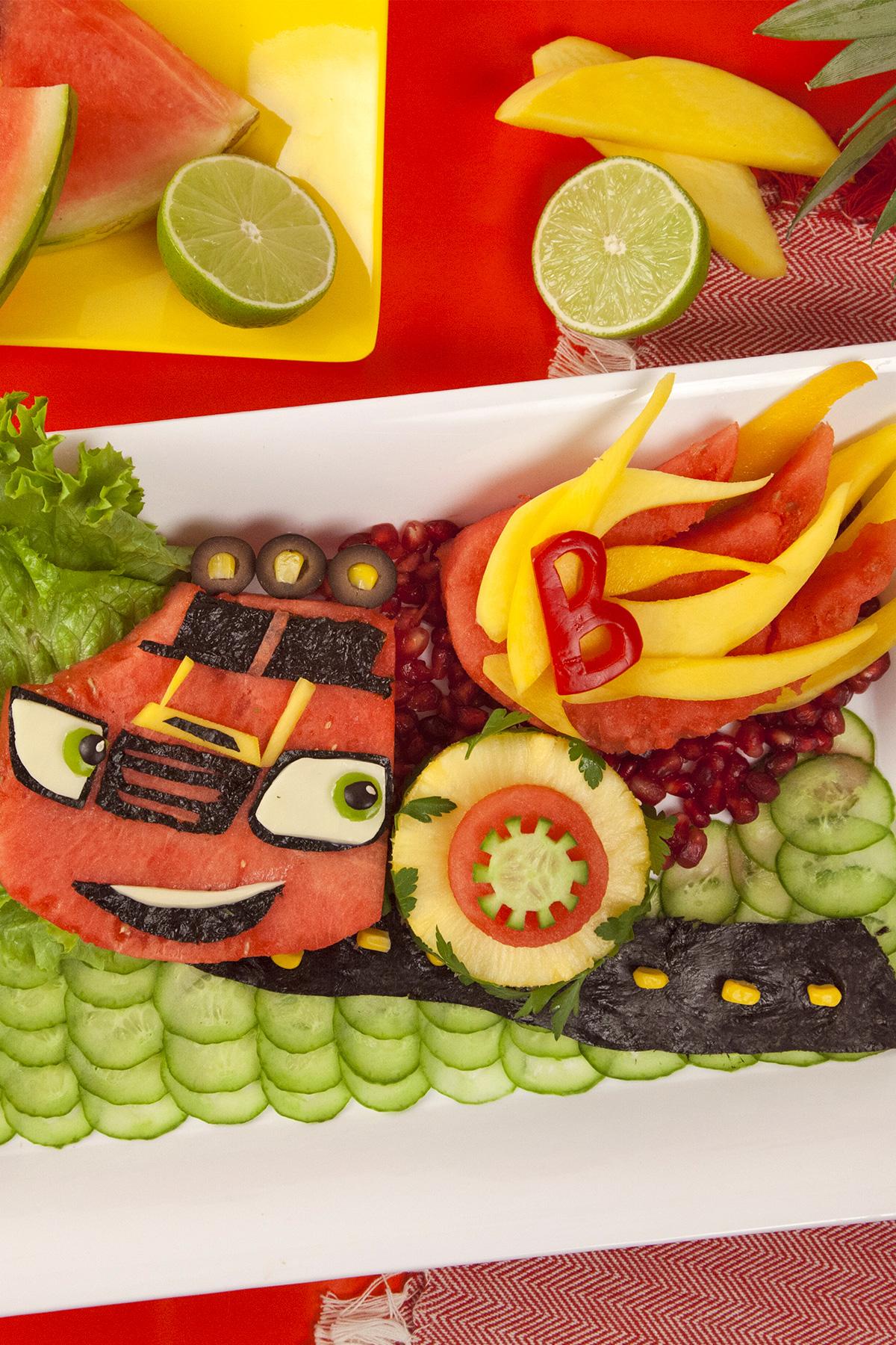 Blaze Watermelon Mmmmonster Machine Recipe
