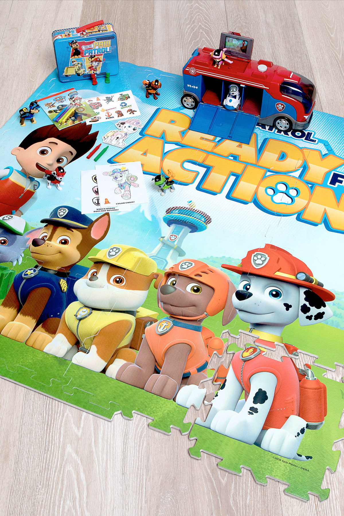 PAW Patrol Mission Play Date