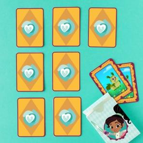 Nella Dragon Card Matching Game