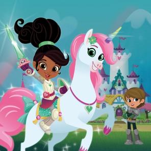Meet Nella the Princess Knight!