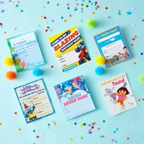 Nick Jr. Printable Birthday Party Invitations