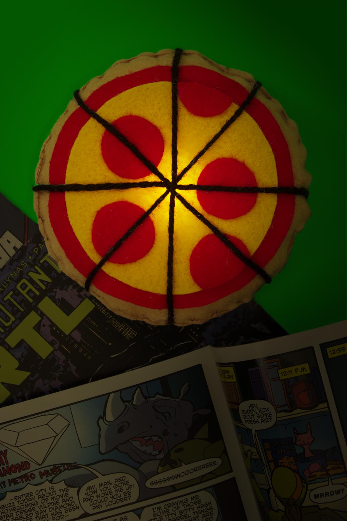 TMNT Pizza and SpongeBob Patrick Night Light Crafts