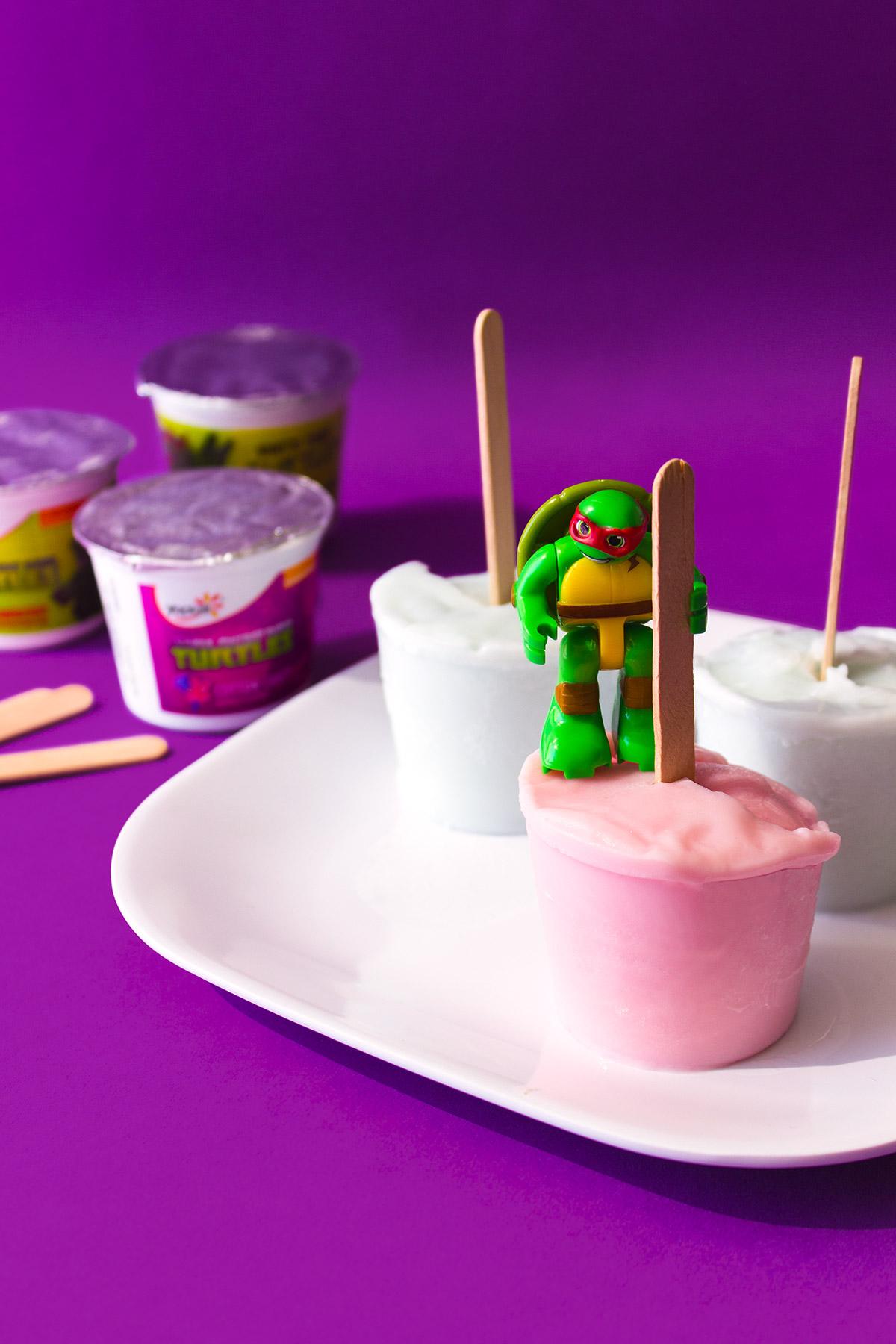 SB & TMNT Yogurt Pops