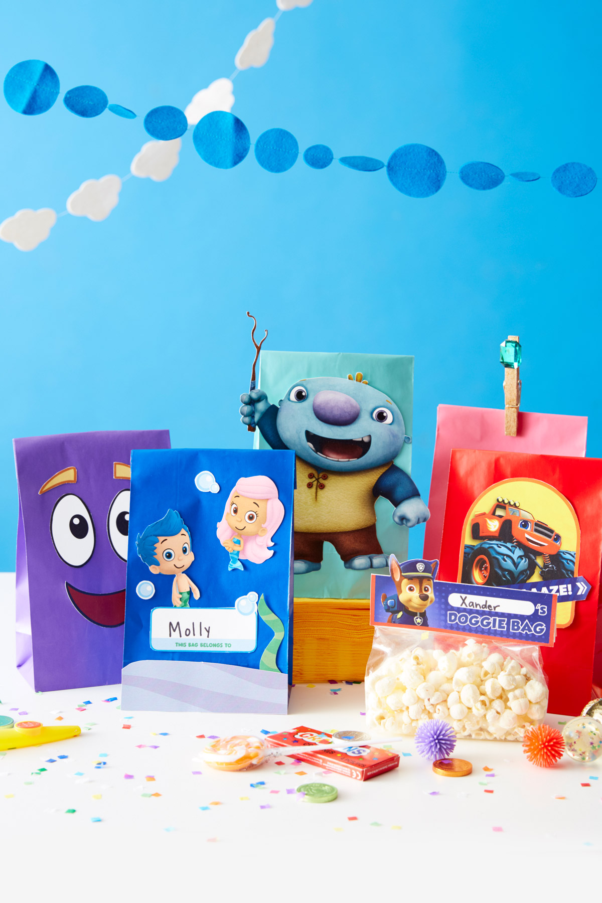 Nick Jr. Printable Goody Bags