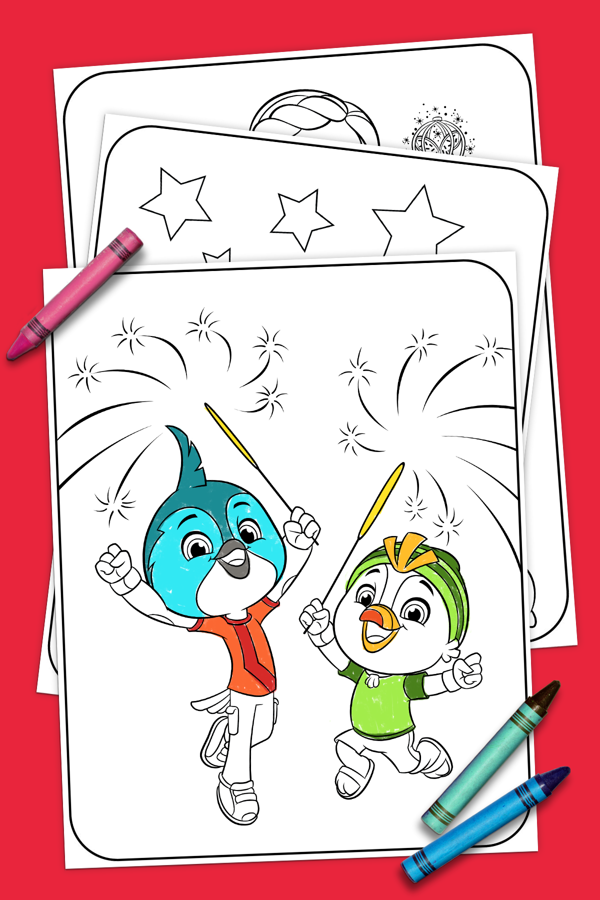Your 4th of July Coloring Page! | Nickelodeon Parents