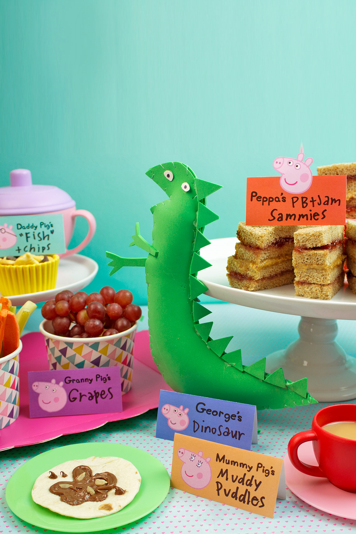 Peppa Pig Healthy Tea Party