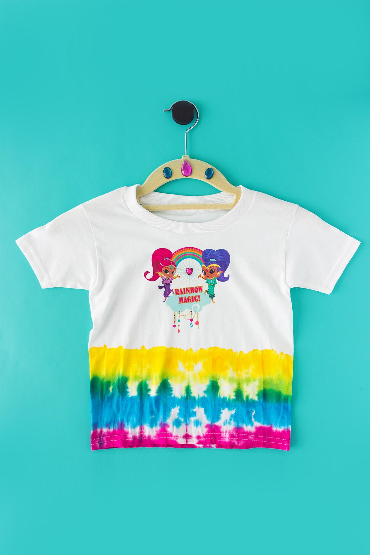 Rainbow Zarahmay Tie-Dye Craft