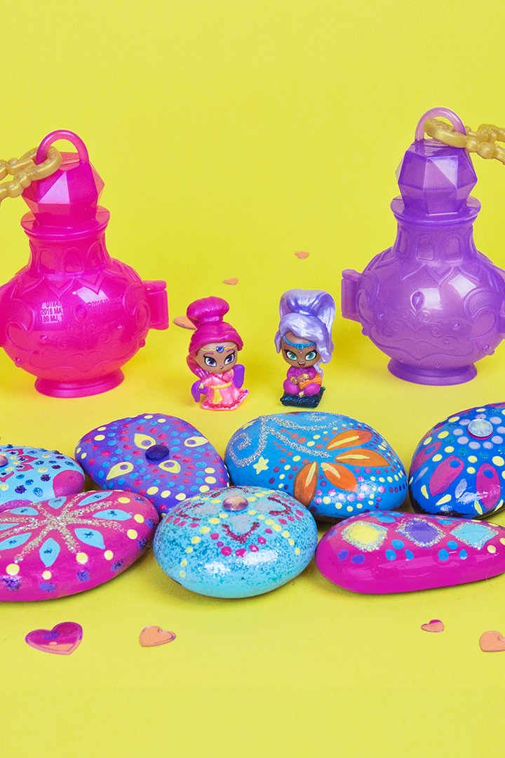 Shimmer and Shine Genie Gems Craft