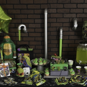 How to Throw a Sewer Slammin' TMNT Birthday Party
