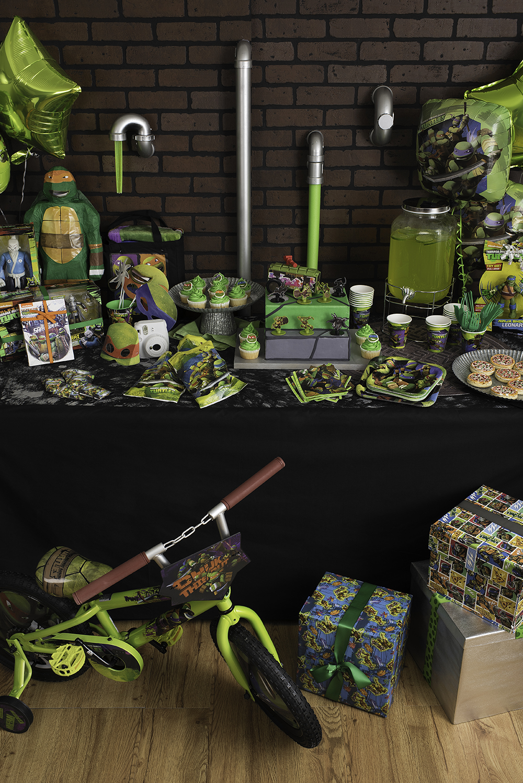 TMNT Walmart Birthday Party