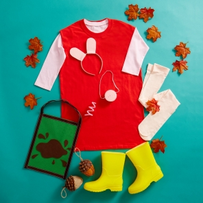 DIY Peppa Pig Costume
