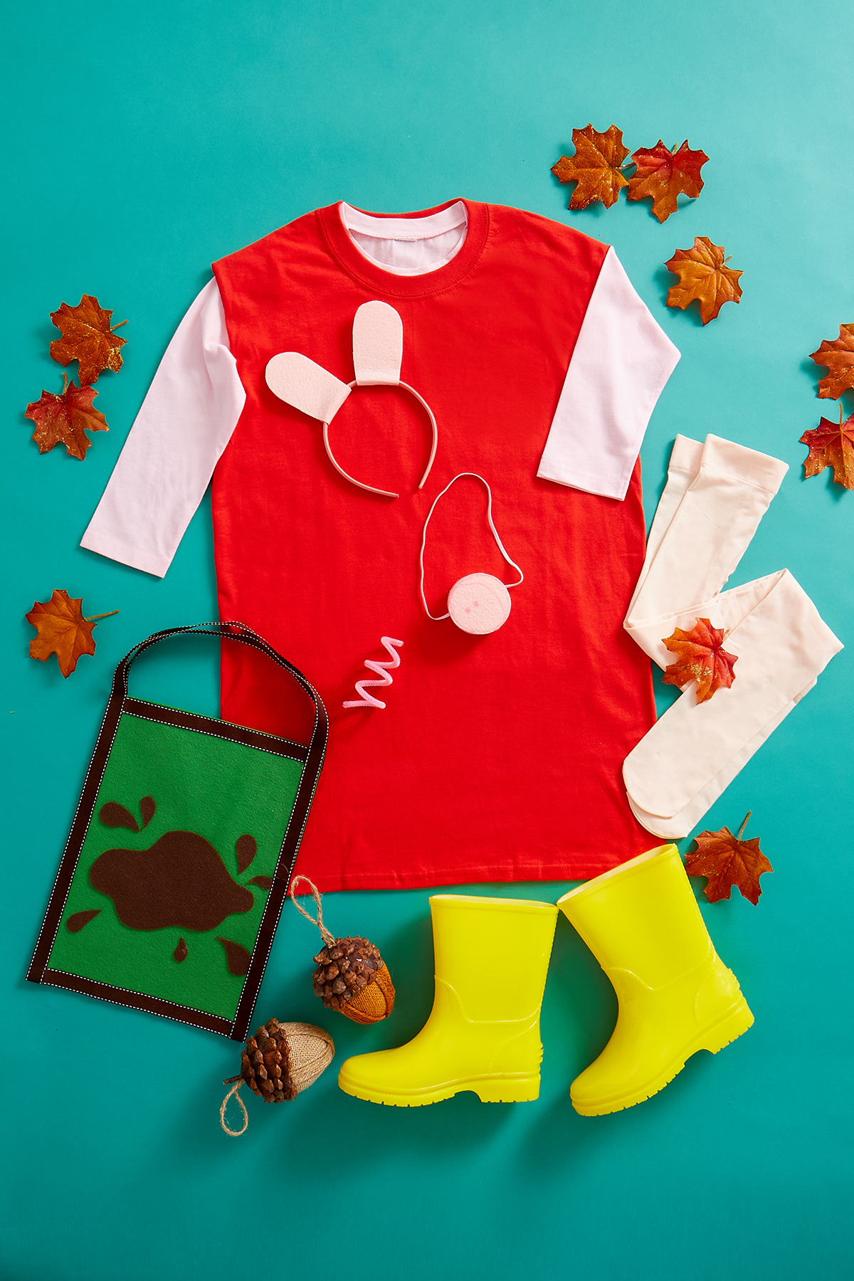 Diy Peppa Pig Costume Nickelodeon Parents