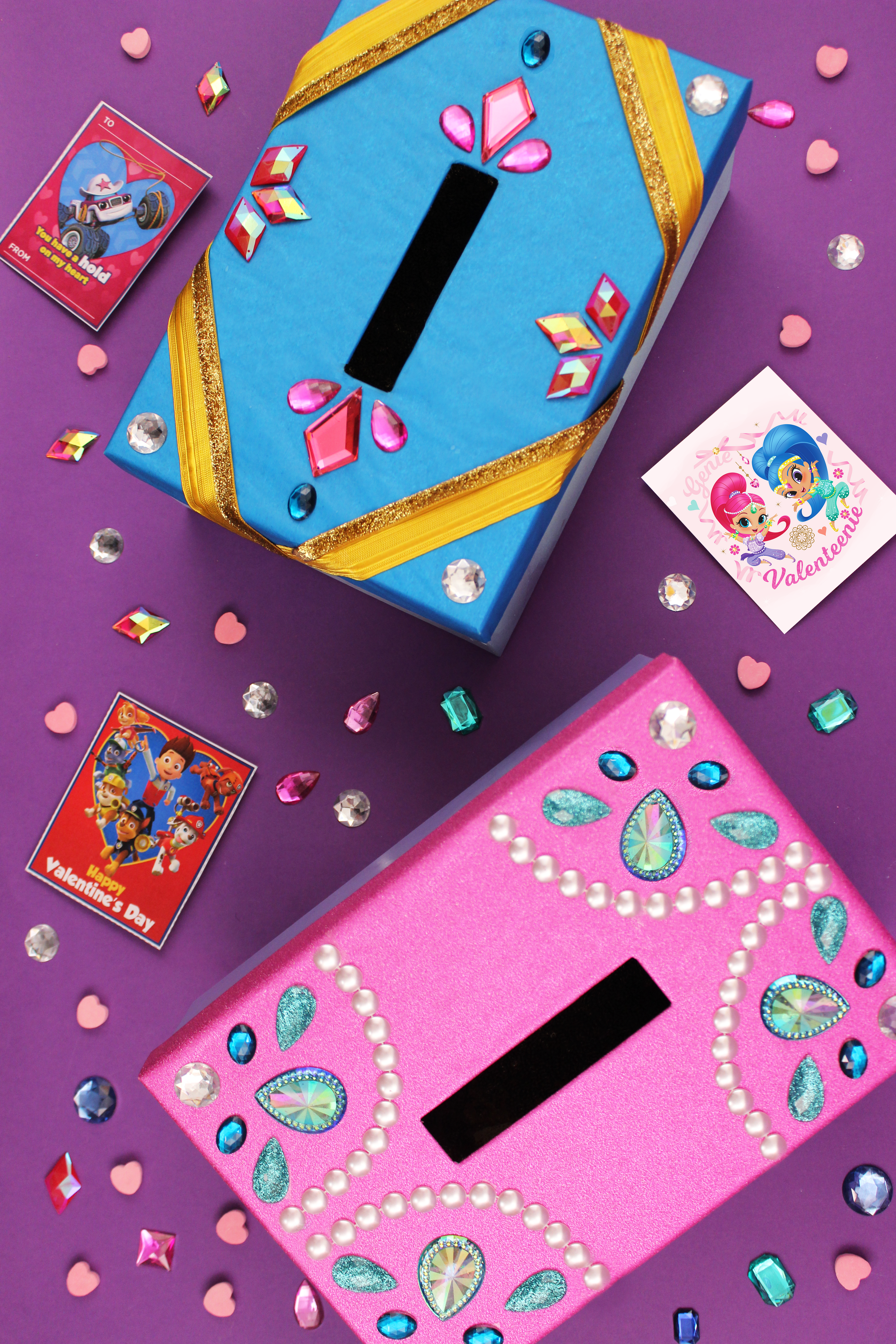 Shimmer and Shine Valentine's Day Box