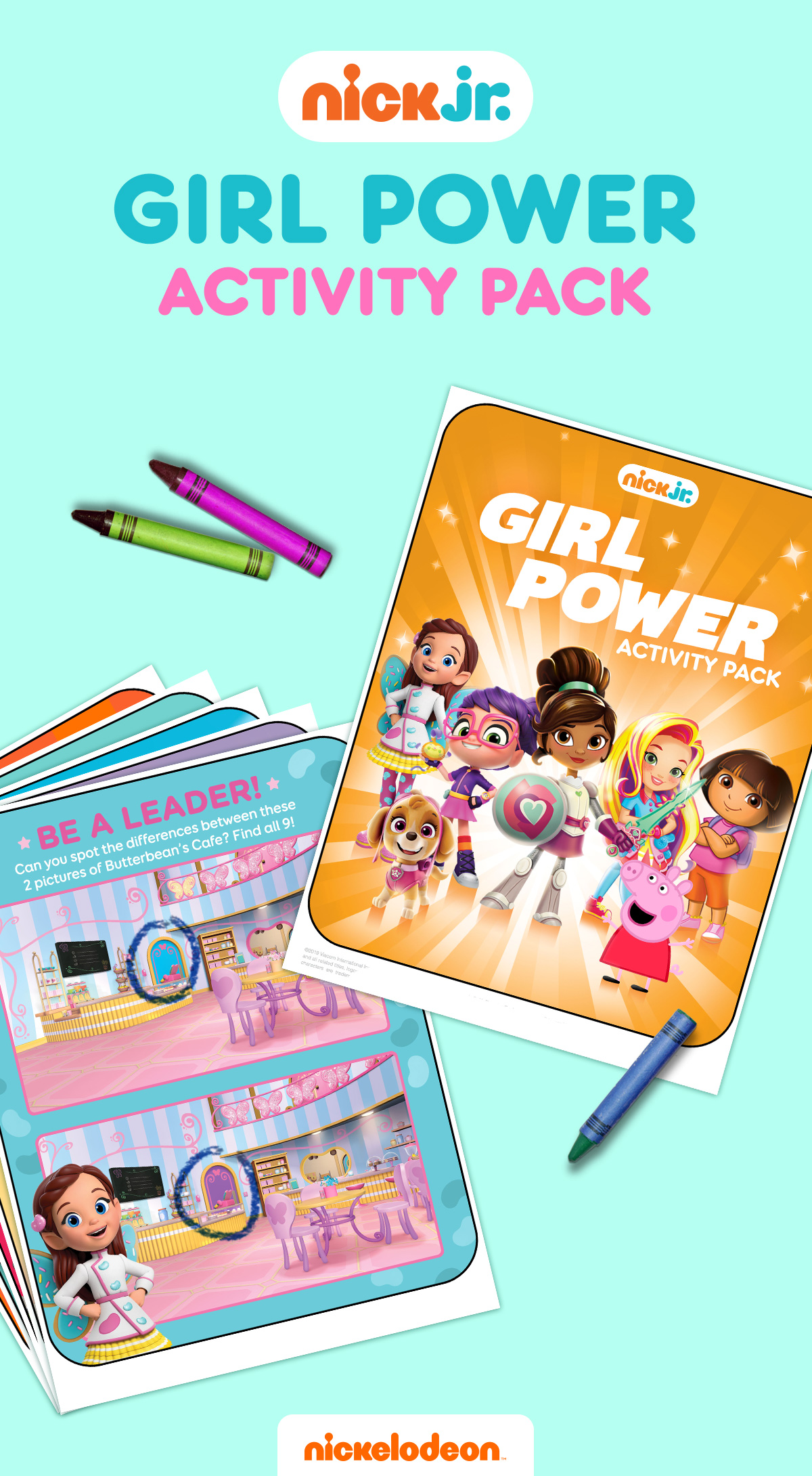 Girl Power Activity Pack | Nickelodeon Parents
