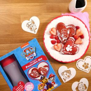 PAW Patrol Valentine's Day Pancakes