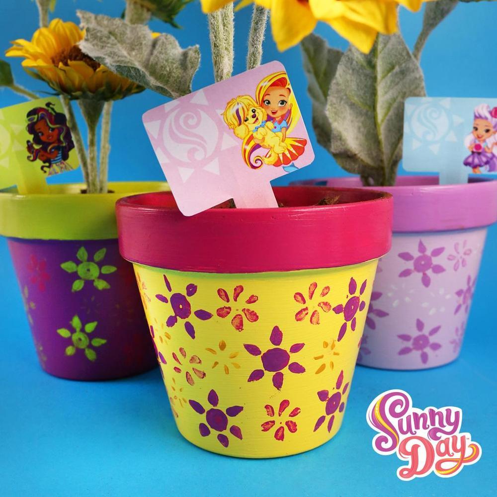 Sunny Day Flower Pot