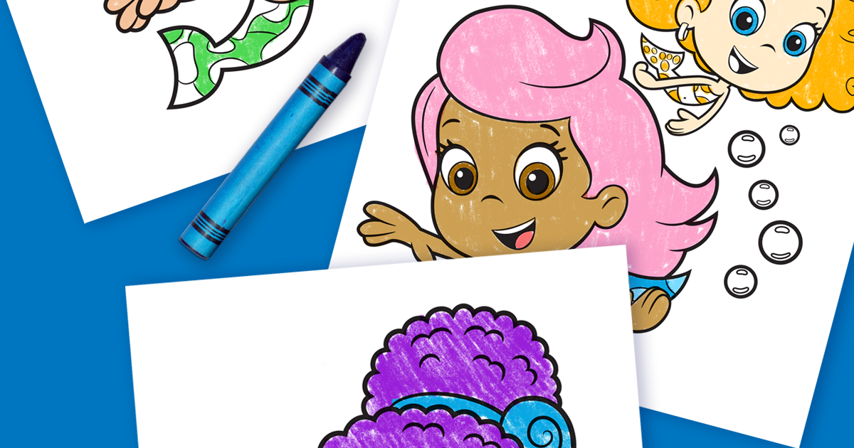 Meet Zooli Bubble Guppies Coloring Pages | Nickelodeon Parents
