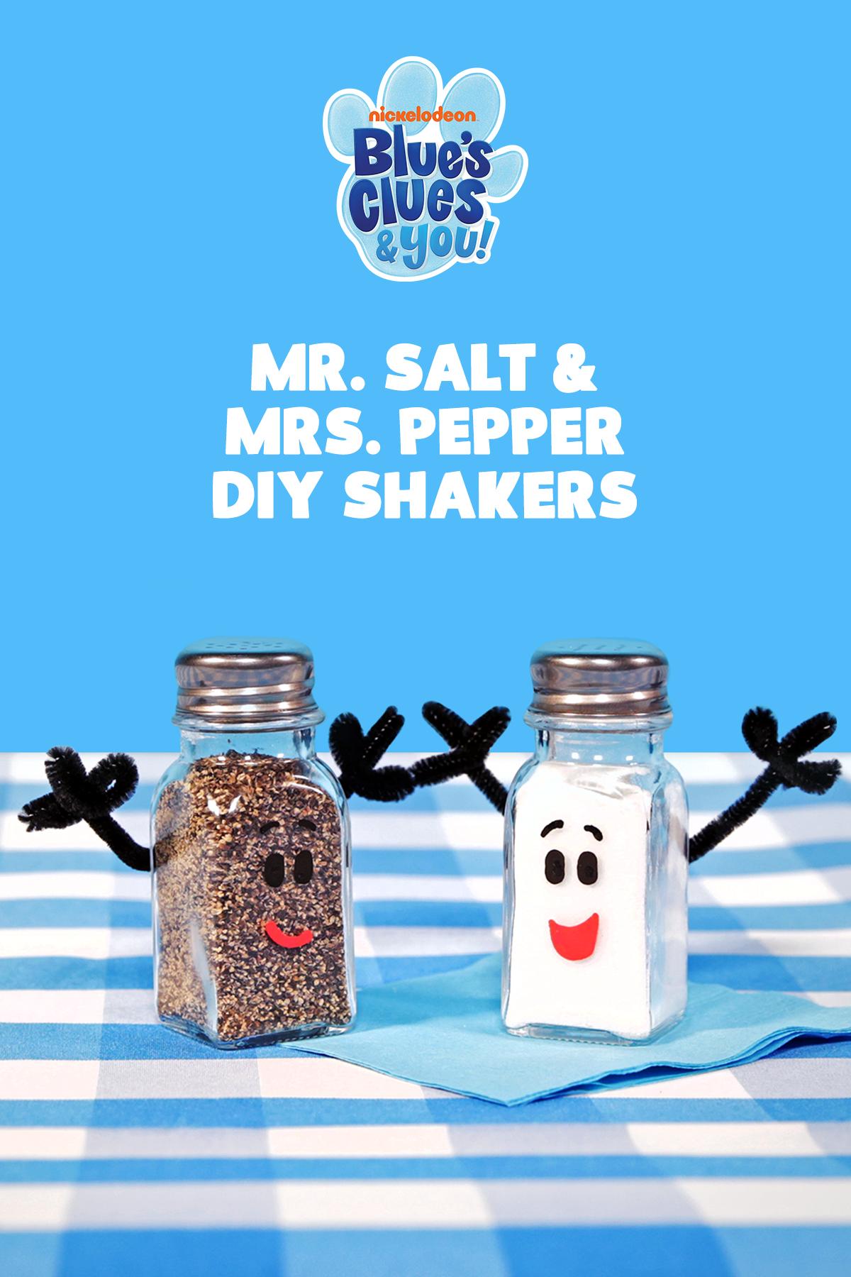 Diy Mr Salt Mrs Pepper Shakers Nickelodeon Parents