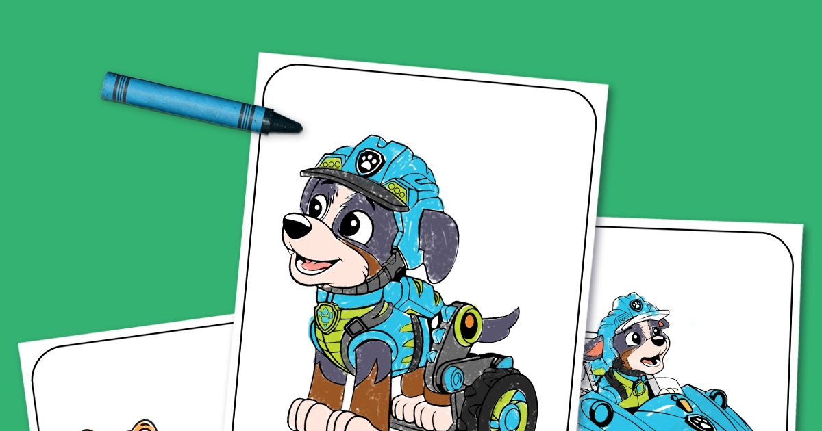 - Print This! PAW Patrol Dino Rescue Coloring Pack Nickelodeon Parents