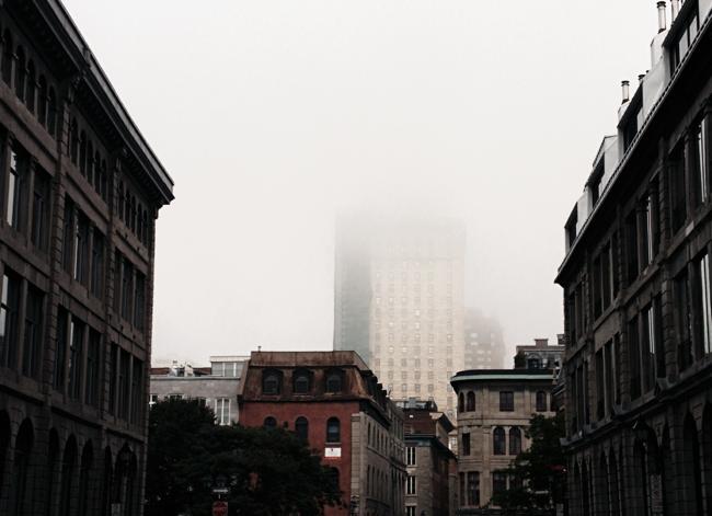 un matin à Montreal