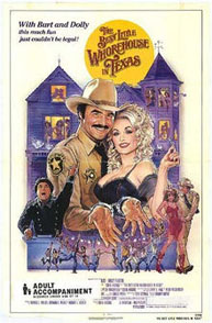 Poster for The Best Little Whorehouse in Texas