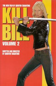Poster for Kill Bill Volume 2