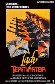 Poster for Lady Terminator