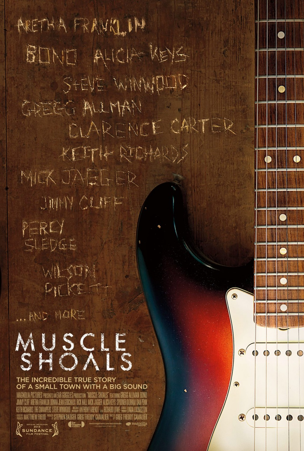 Poster for Muscle Shoals