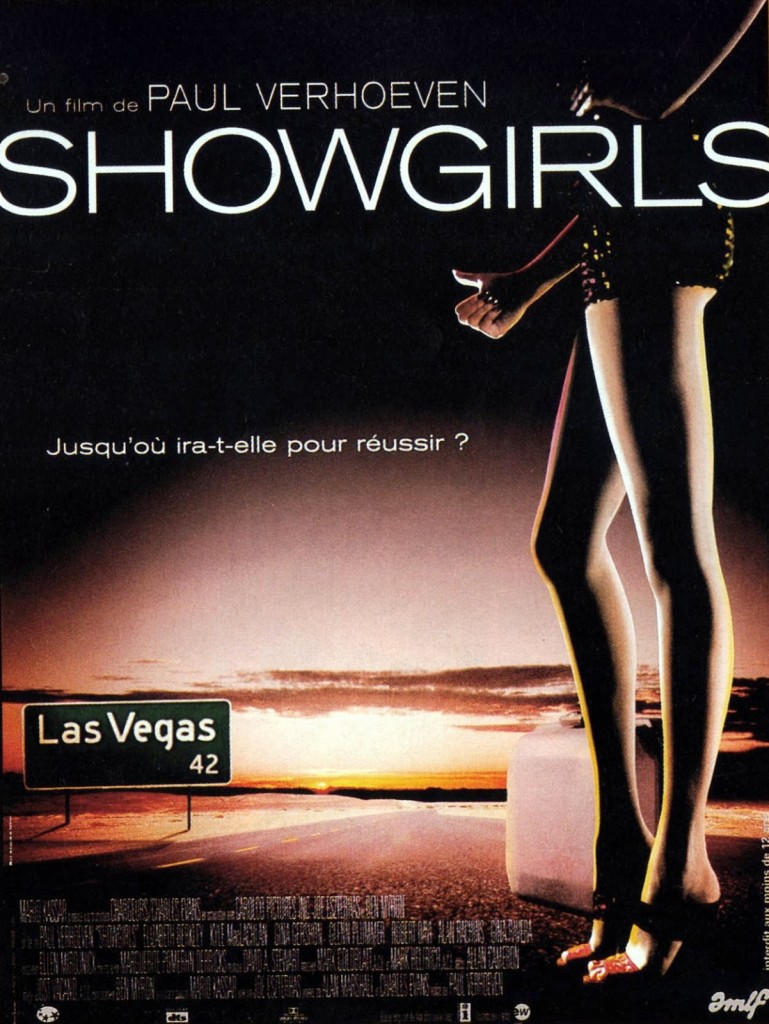 SHOWGIRLS - French Poster 1