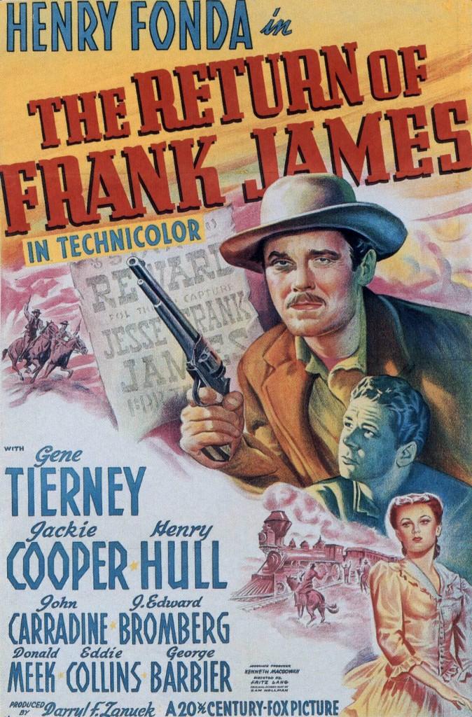 Poster - Return of Frank James, The_01