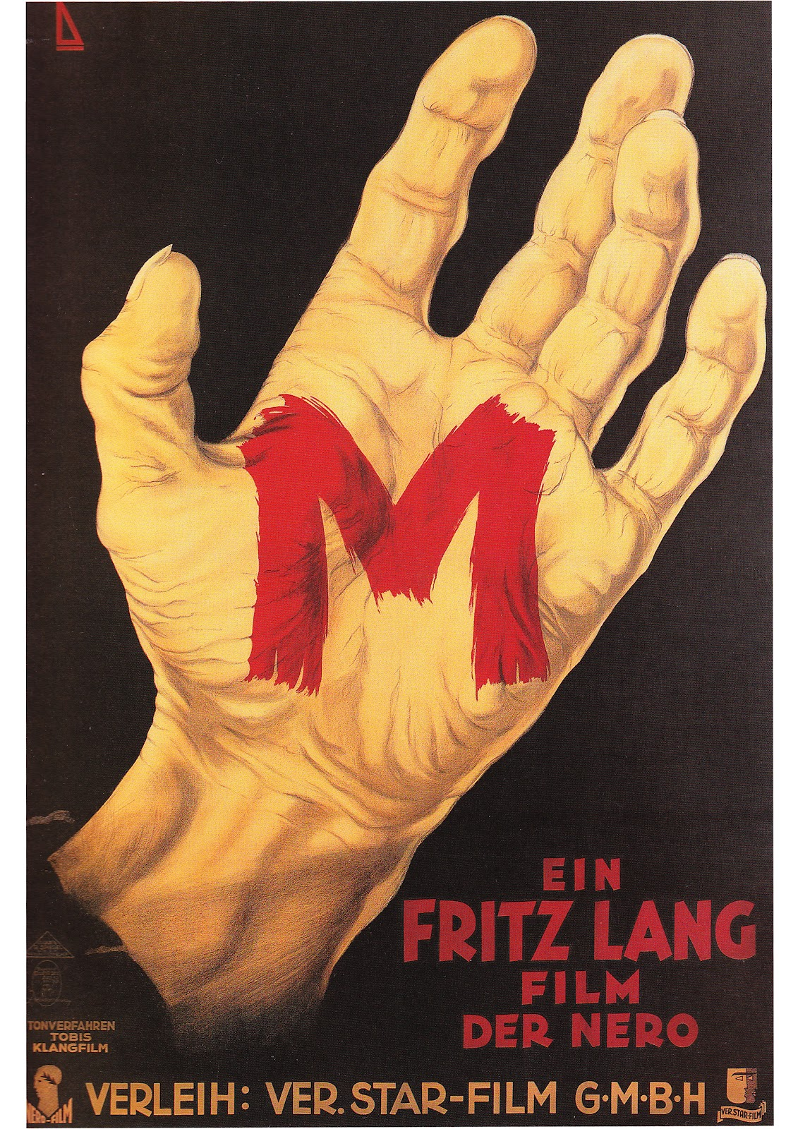 M 1931 Poster M 1931 Poster M  1931