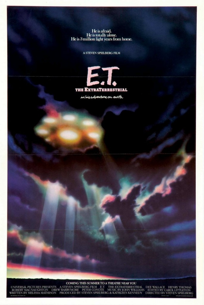 E.T. the Extra-Terrestrial one sheet