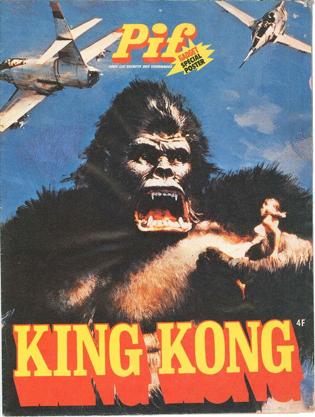 King.Kong.1976.Pif.Gadget.Special.Poster.couverture
