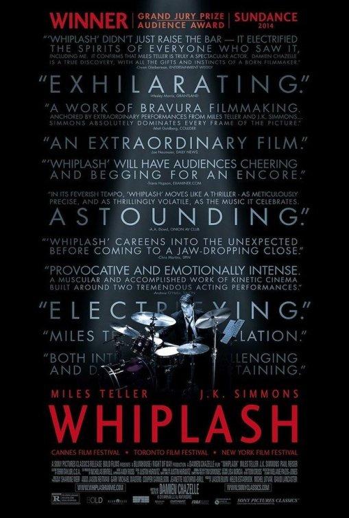 Poster for Whiplash