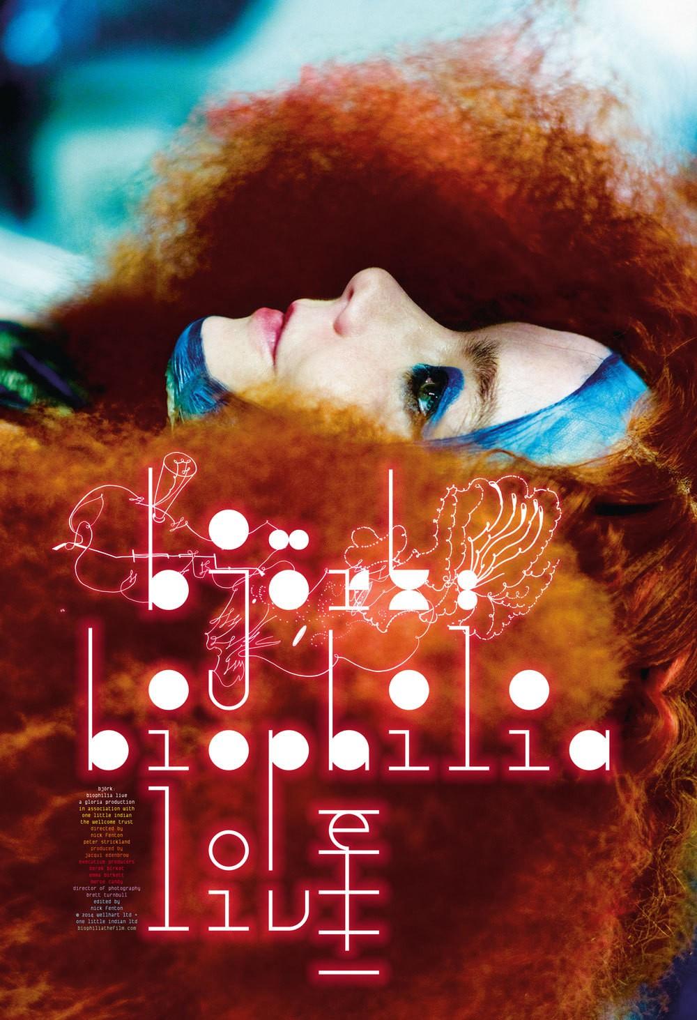 Poster for Bjork: Biophilia Live