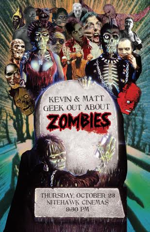 Poster for Kevin and Matt Geek Out: Zombies