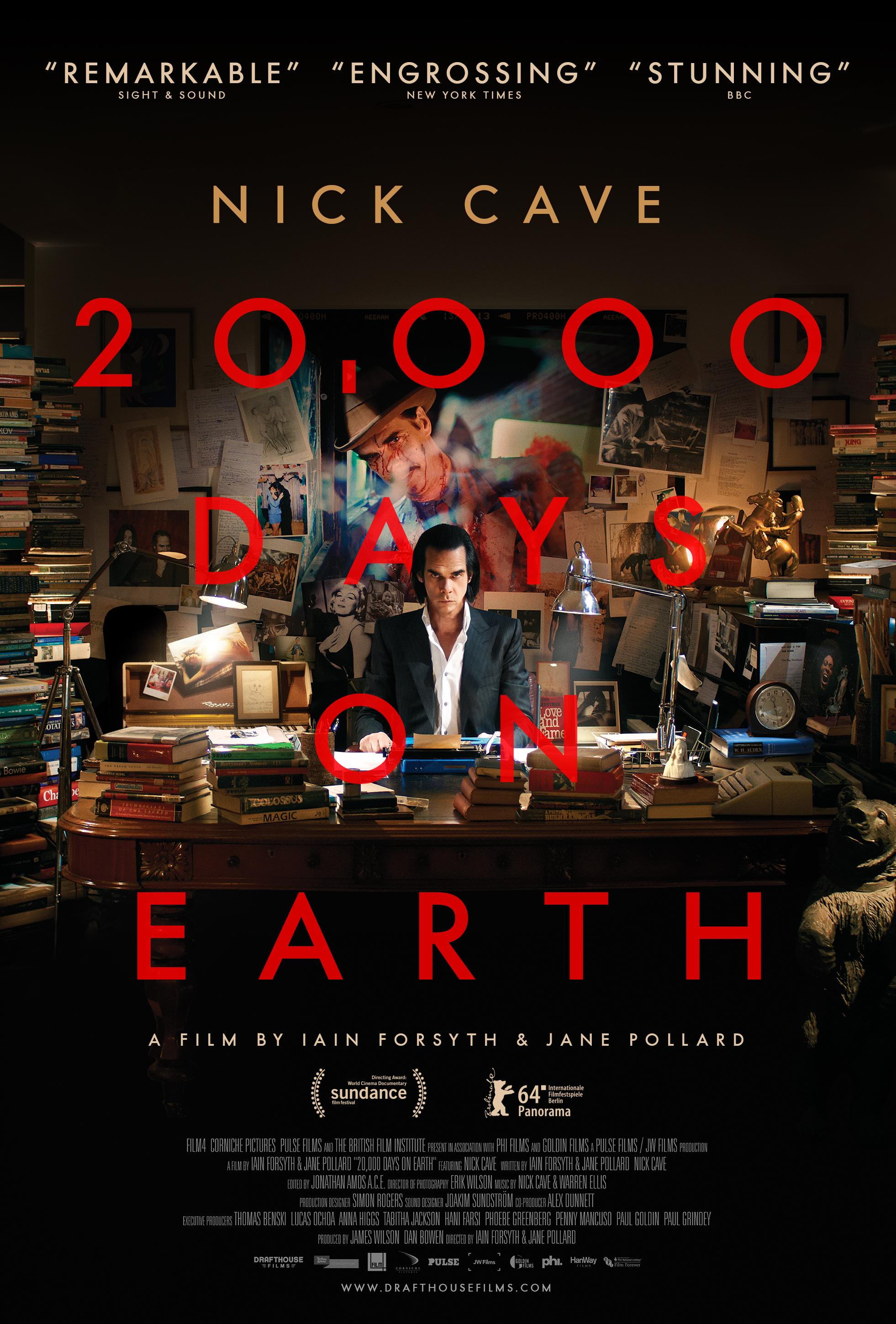 Poster for 20,000 Days on Earth