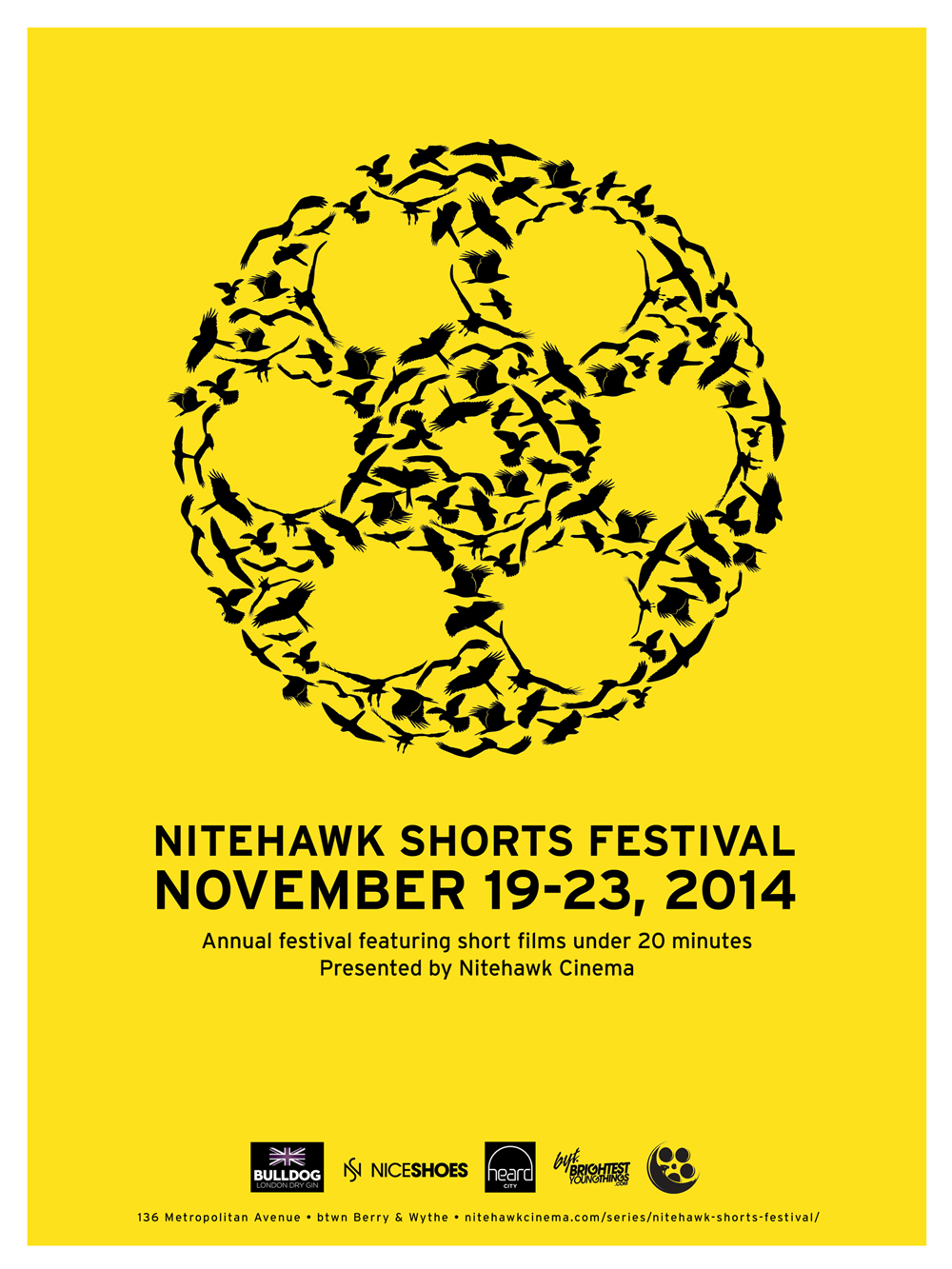 Poster for Nitehawk Shorts Festival 2014: Day Two