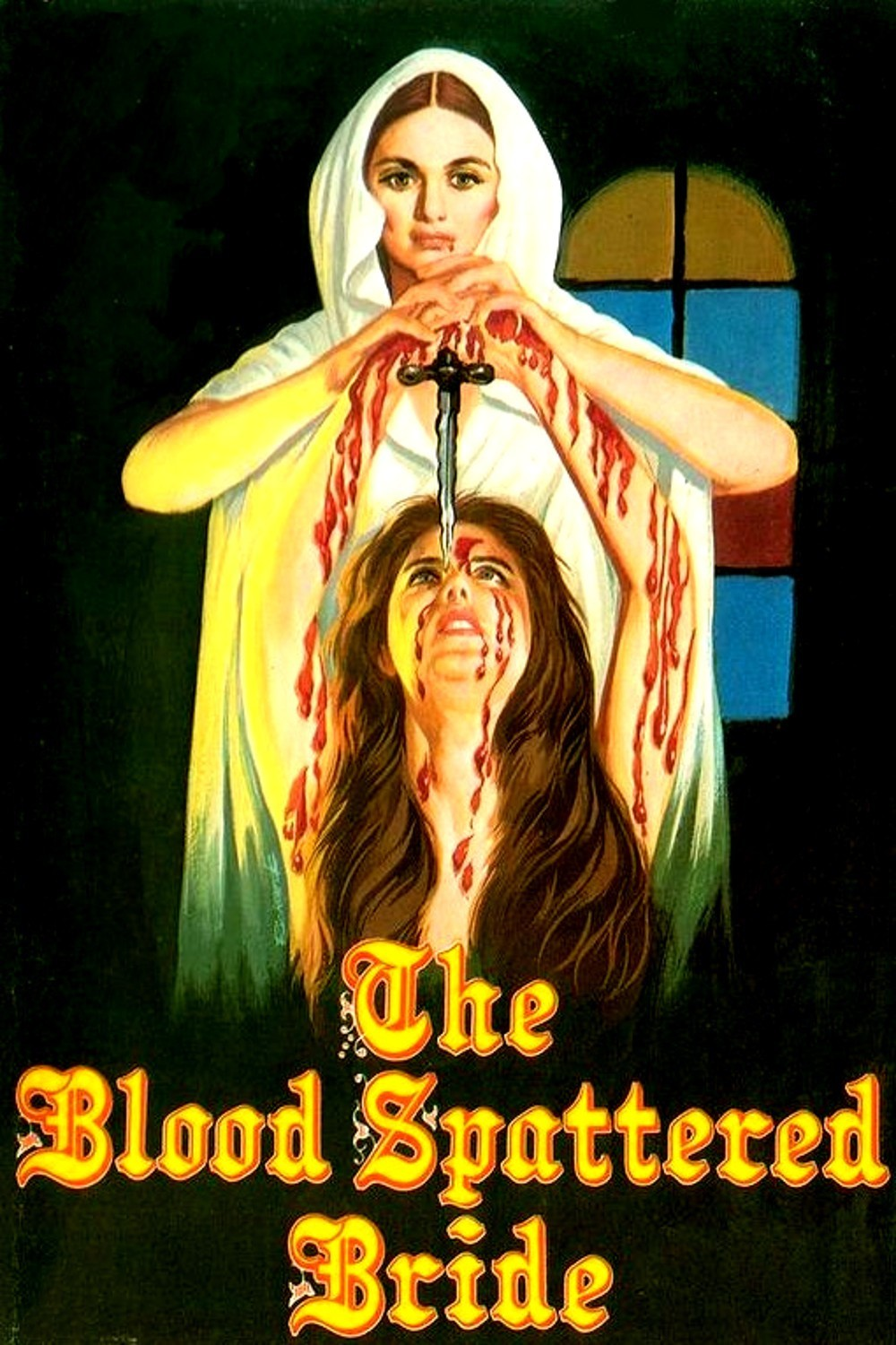 Poster for The Blood Spattered Bride