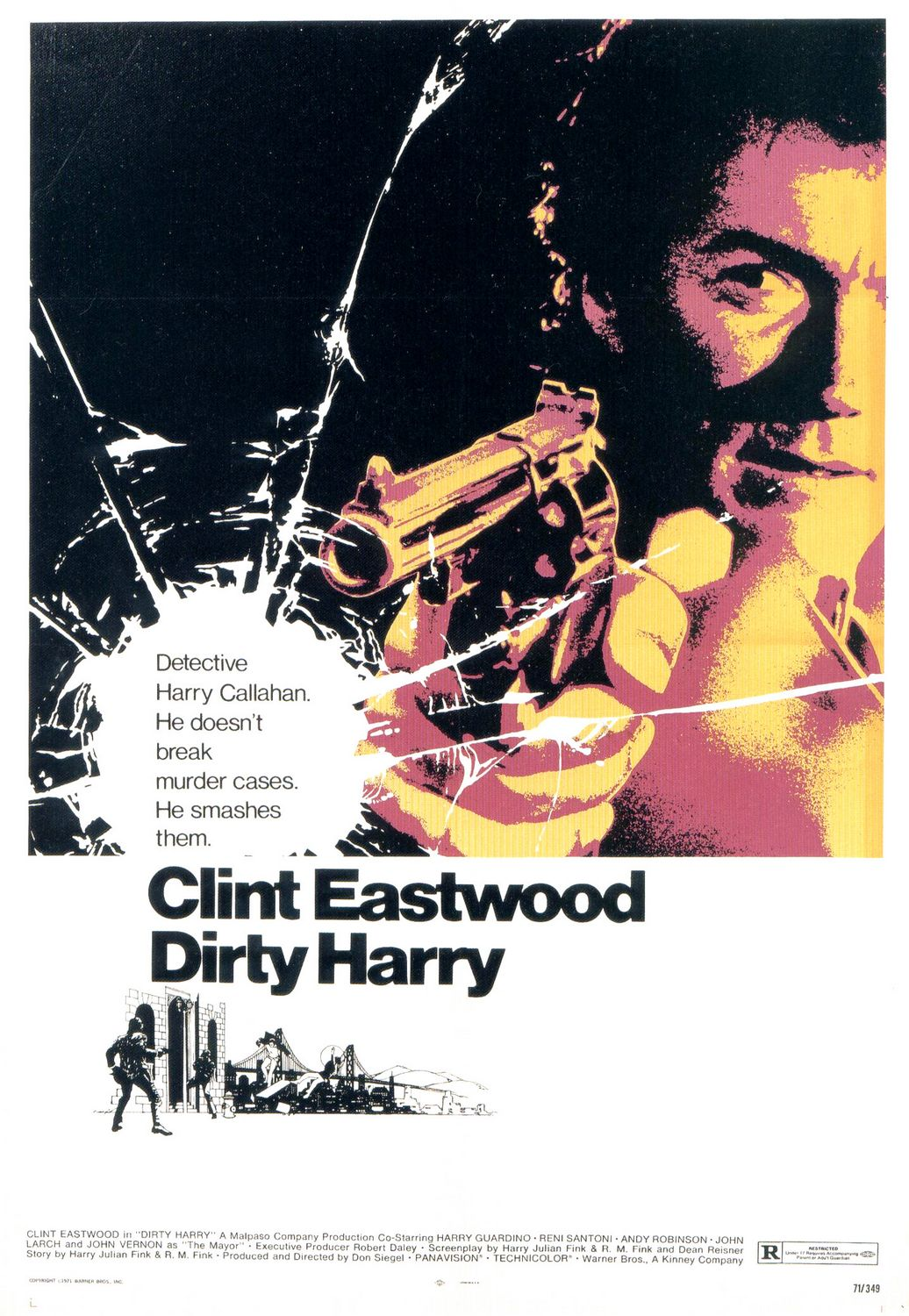 Poster for Dirty Harry