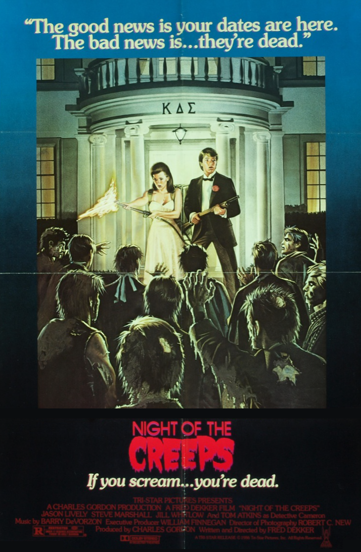 Poster for Night of the Creeps