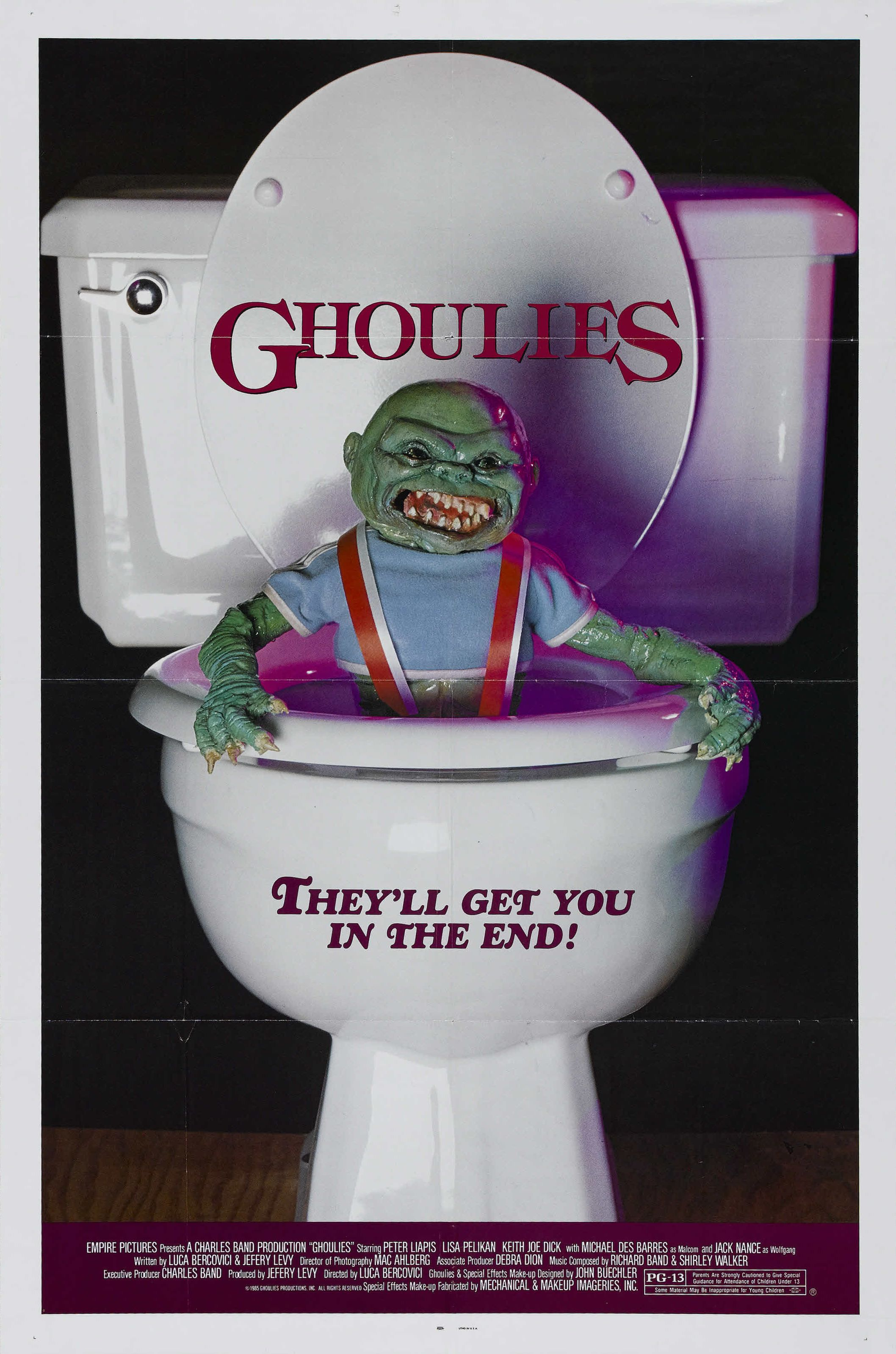 Poster for Ghoulies