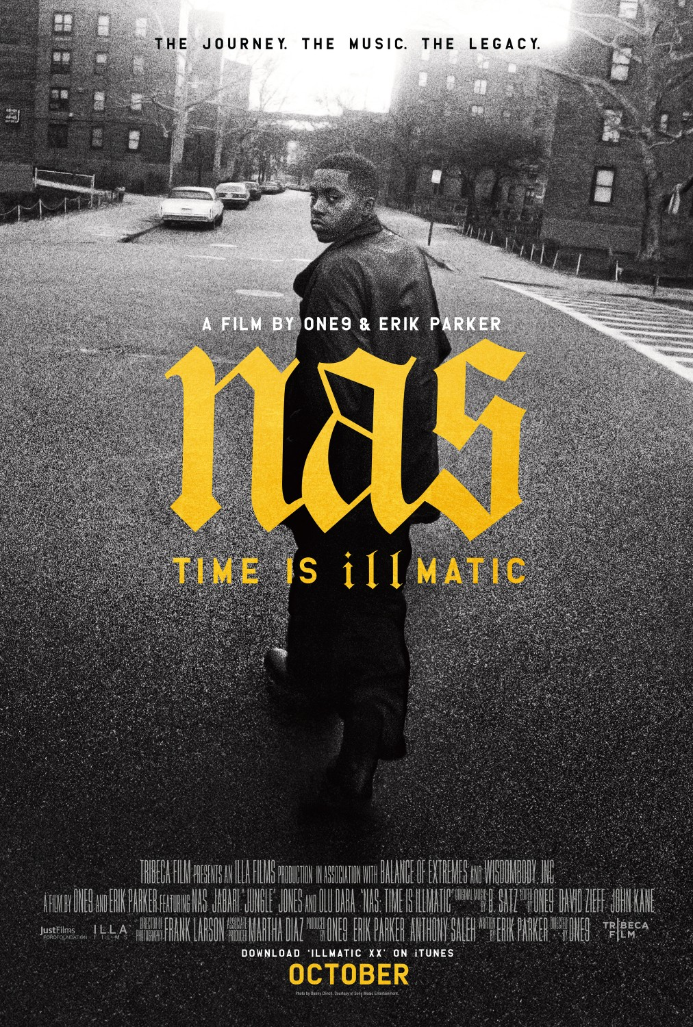 Poster for Nas: Time Is Illmatic