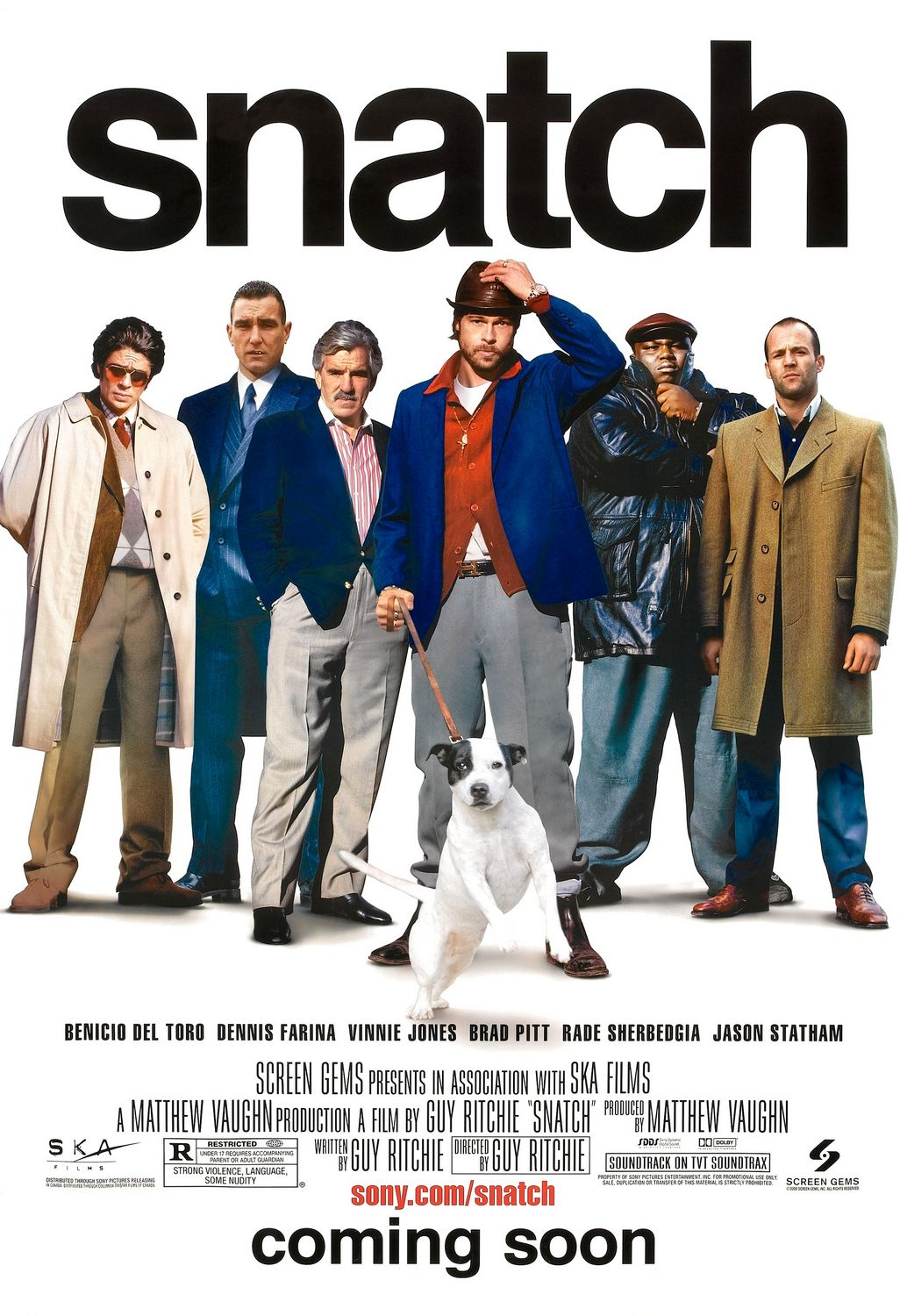 Poster for Snatch.