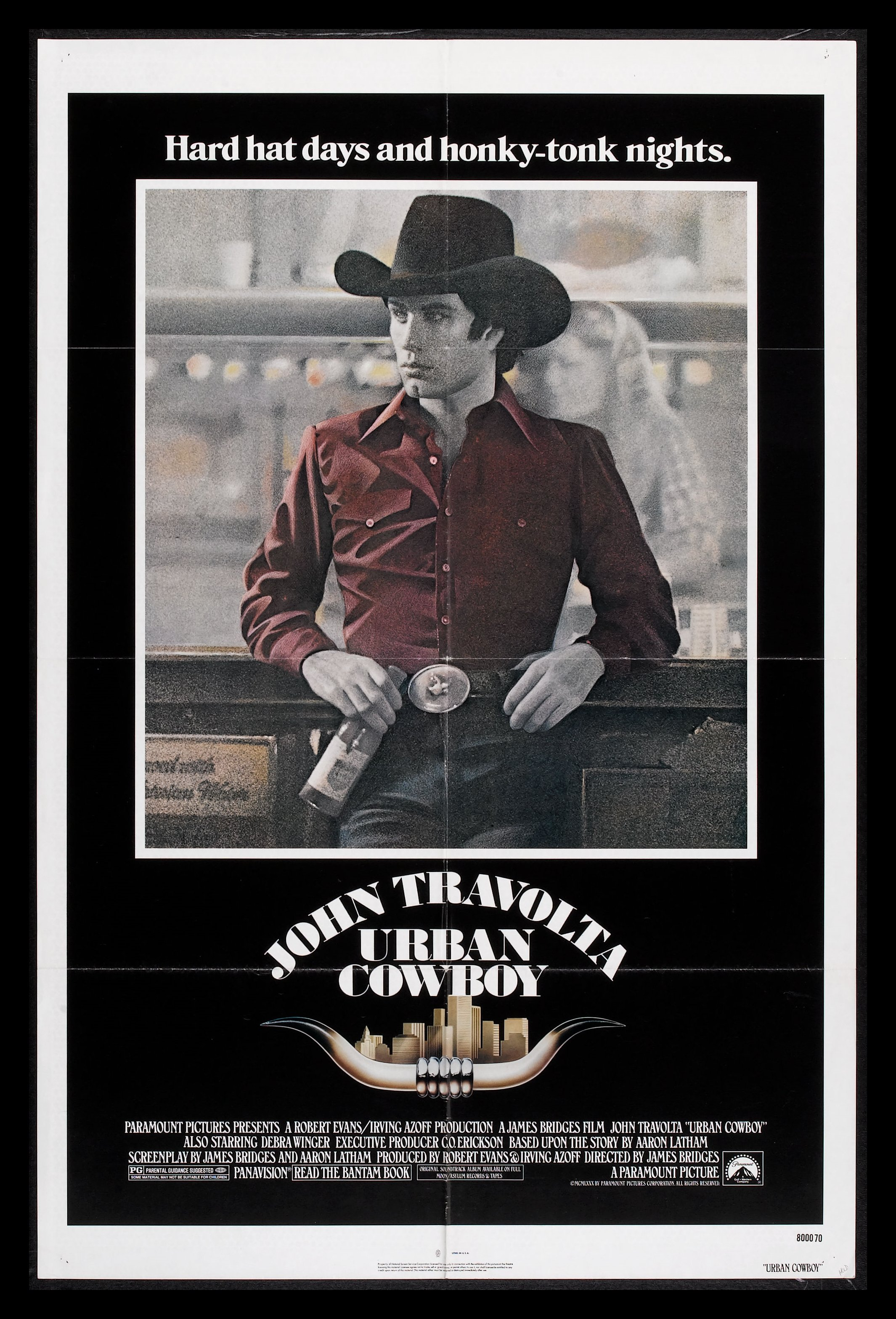 Poster for Urban Cowboy
