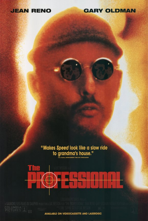 Poster for The Professional