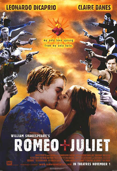 Poster for Romeo + Juliet Film Feast