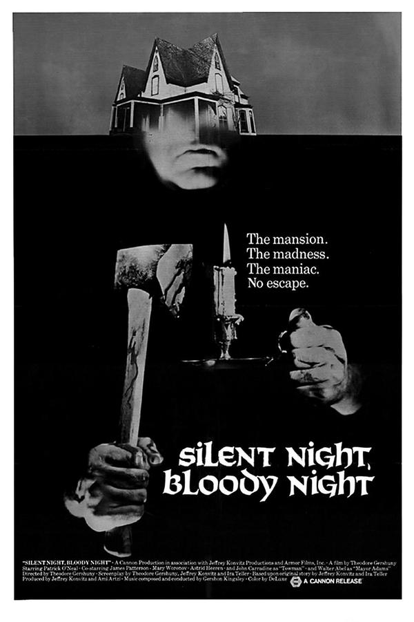 Poster for Silent Night, Bloody Night