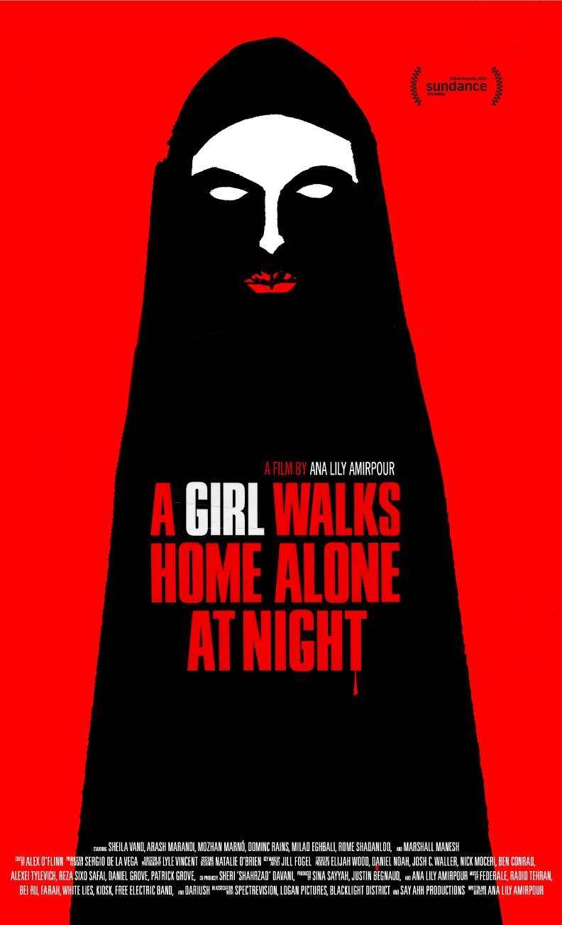 Poster for A Girl Walks Home Alone at Night
